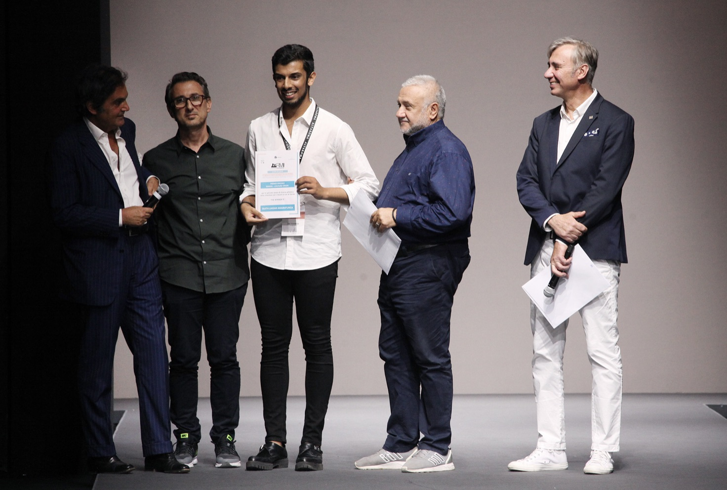 vincitore serikos - origin couture Sajit Amaratunga