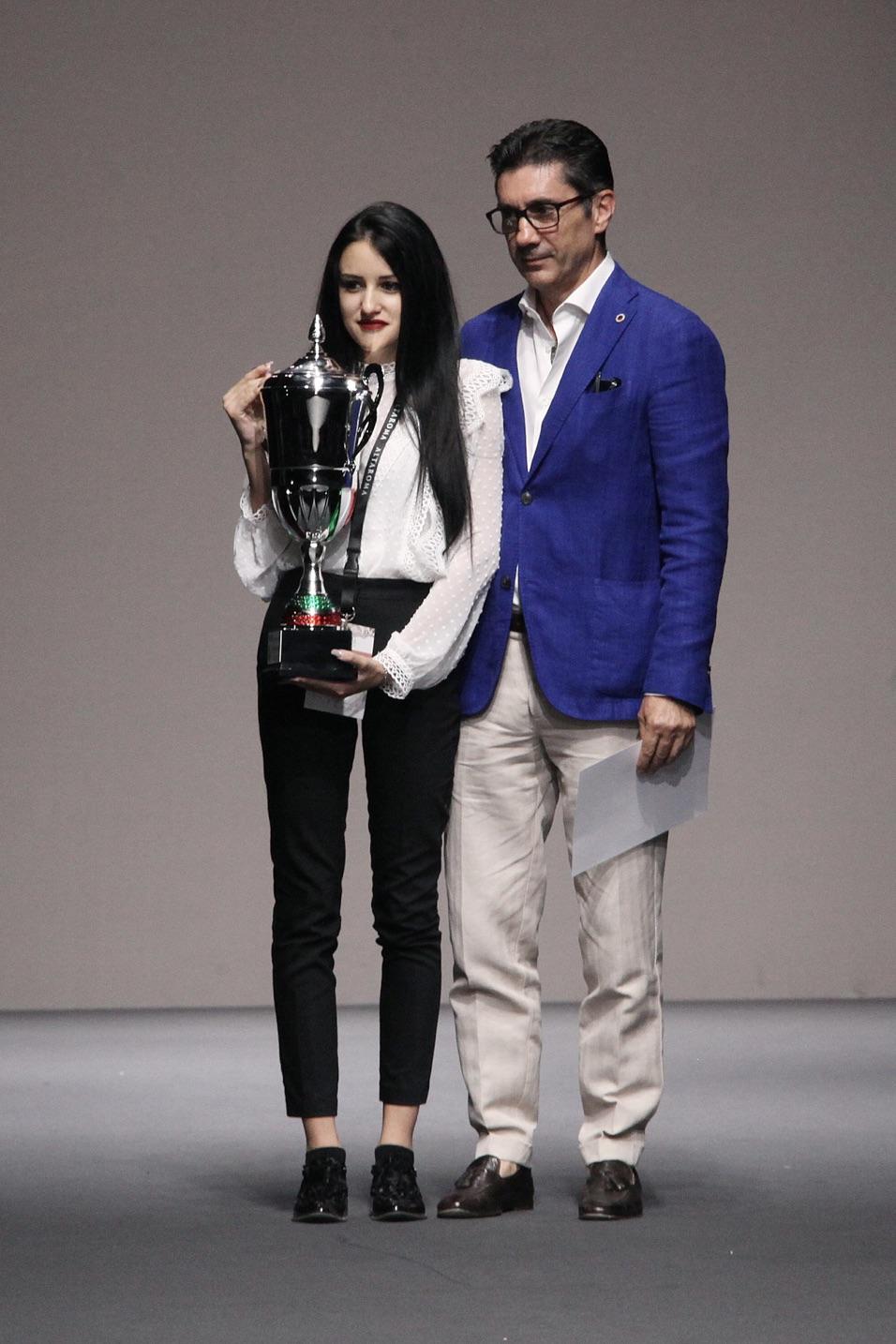 premio al più giovane finalista Virginia Paglierani