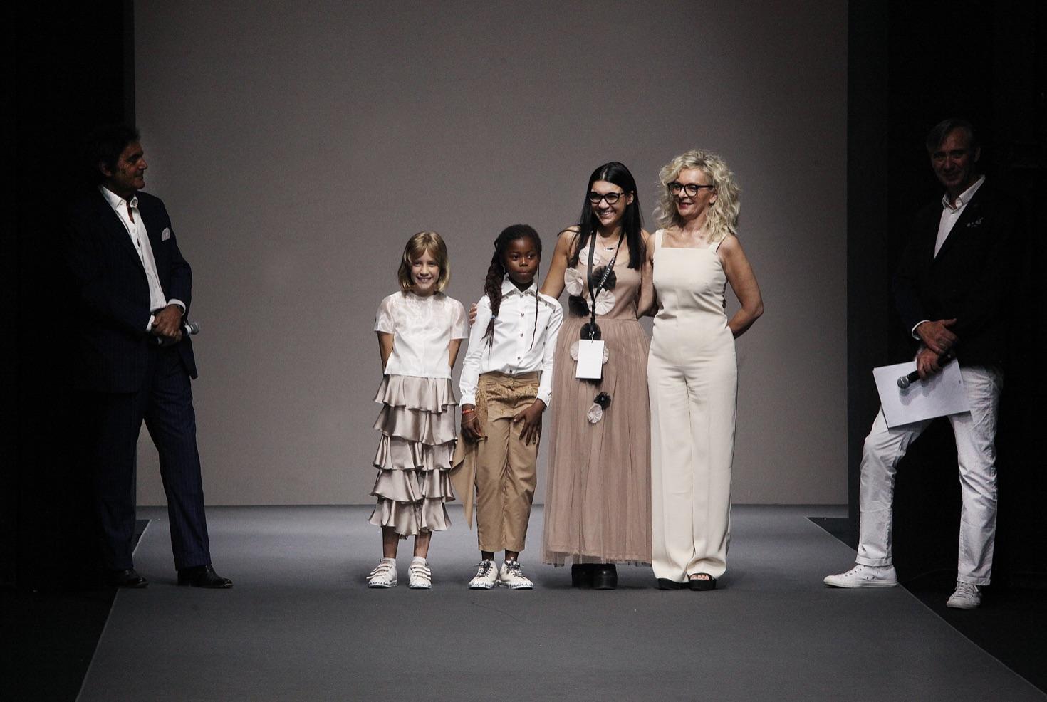 vincitore abbigliamento bambino Sara Ferrari