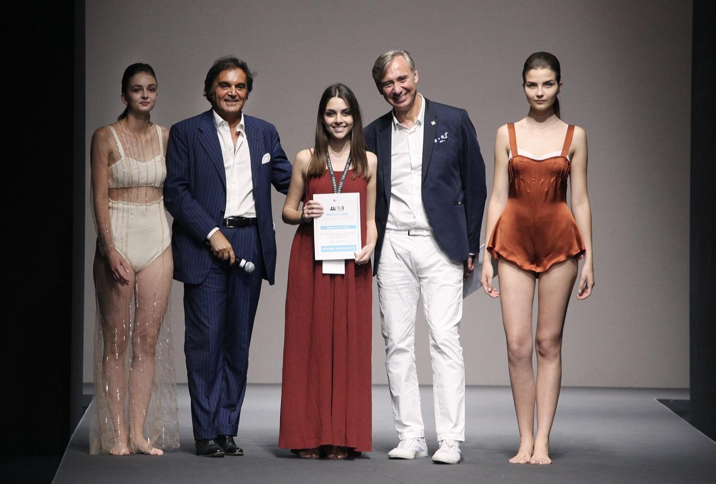 vincitore intimo mare Arianna Pacchiarotti